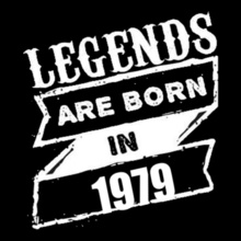 Legends-are-born-IN-% T-Shirt