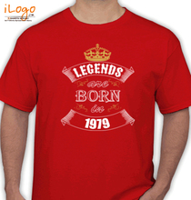 Legends are Born in 1979 T-Shirts