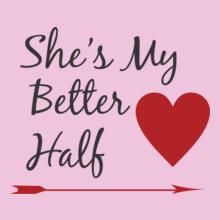 she-is-my-half T-Shirt