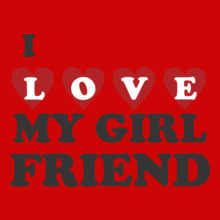 My-girlfriend T-Shirt