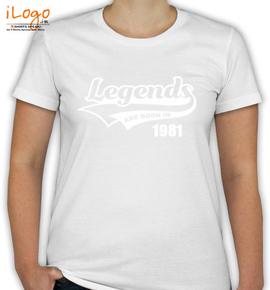Legends are born  - T-Shirt [F]