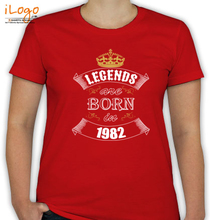 Legends are Born in 1982 Legends-are-born-in-%B T-Shirt