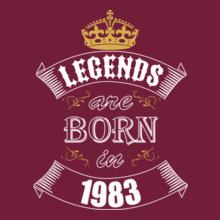 Legends-are-born-in-%C%C T-Shirt