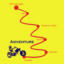 LEH adventure-leh T-Shirt