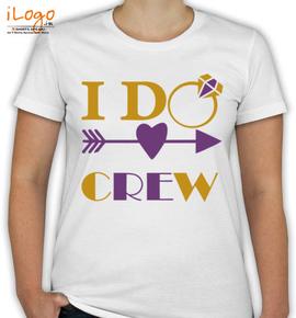 I DO Crew - T-Shirt [F]