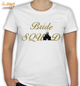 Squad golden - T-Shirt [F]
