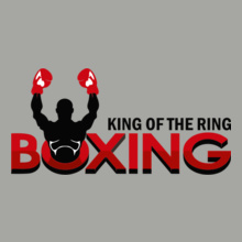 Boxing Motivational king-of-the-ring T-Shirt