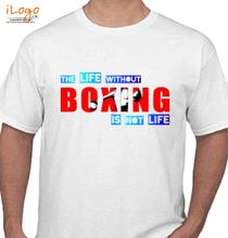 Boxing Motivational Boxing-Life T-Shirt