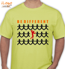 Gym Inspirational Be-different T-Shirt