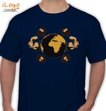 Gym Inspirational Gym-world T-Shirt