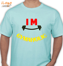 Gym Inspirational Gymaholic T-Shirt
