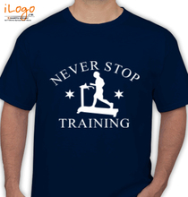 Gym Inspirational neverstop-training T-Shirt