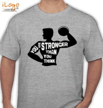 Gym Inspirational U-R-Stronger T-Shirt