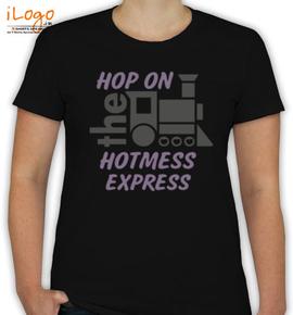bride hotmess express - T-Shirt [F]