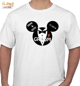 groom disney - T-Shirt