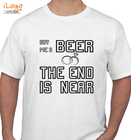 Groom the end is near - T-Shirt
