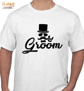 groom hat - T-Shirt