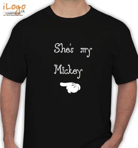 groom mickey - T-Shirt