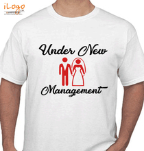Bachelor Party groom-under-the-management T-Shirt
