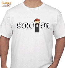 Bachelor Party groom-standing T-Shirt