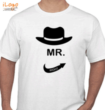 Bachelor Party groom-Mr.-right T-Shirt