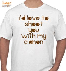 love shooting - T-Shirt