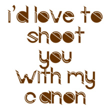 Photographer love-shooting T-Shirt