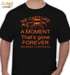 capture moment - T-Shirt