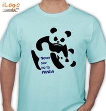 WWF Never-say-no-to-panda T-Shirt