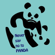 Never-say-no-to-panda T-Shirt
