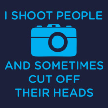 camera-shoot-people T-Shirt