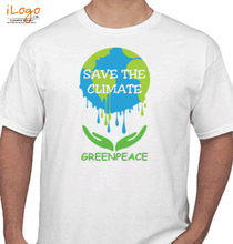 Greenpeace save-climate T-Shirt