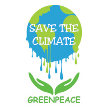 Greenpeace save-climate T-Shirt