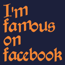 Facebook famous-guy T-Shirt