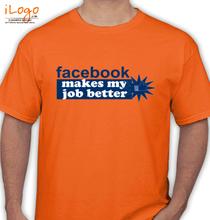 Facebook better-job T-Shirt