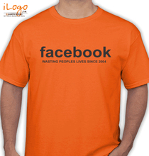 Facebook facebook-waste T-Shirt