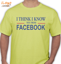 Facebook i-know-on-fb T-Shirt