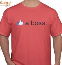 Facebook like-a-boss T-Shirt