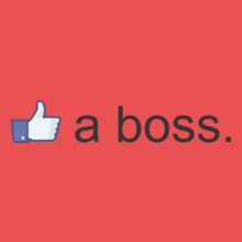 Facebook like-a-boss T-Shirt