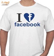 Facebook love-facebook T-Shirt
