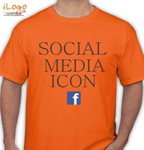 Facebook social-media-icon T-Shirt