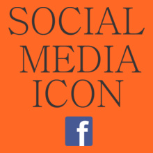 Facebook social-media-icon T-Shirt