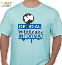 Wikileaks wikileaks-informat T-Shirt