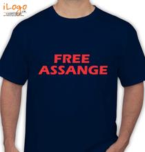 Wikileaks free-assange T-Shirt