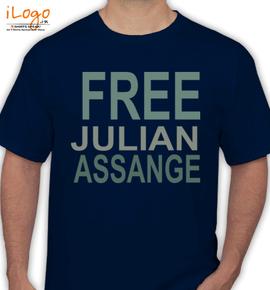 jullian assange - T-Shirt