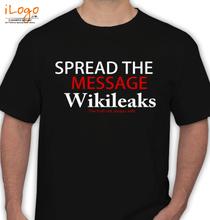 Wikileaks the-spread-message T-Shirt
