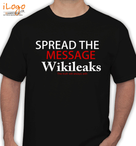 the spread message - T-Shirt