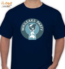 Wikileaks wikileaks-party T-Shirt