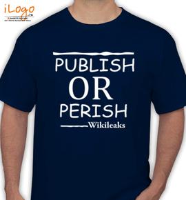 publish perish - T-Shirt