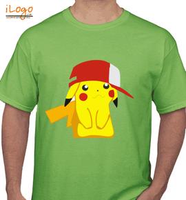 pikachu cartoon - T-Shirt